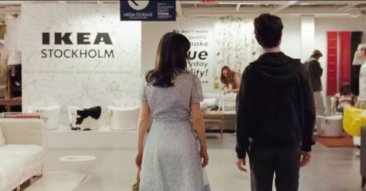 ikea 500 days of summer
