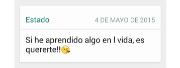 whatsapp amor 1